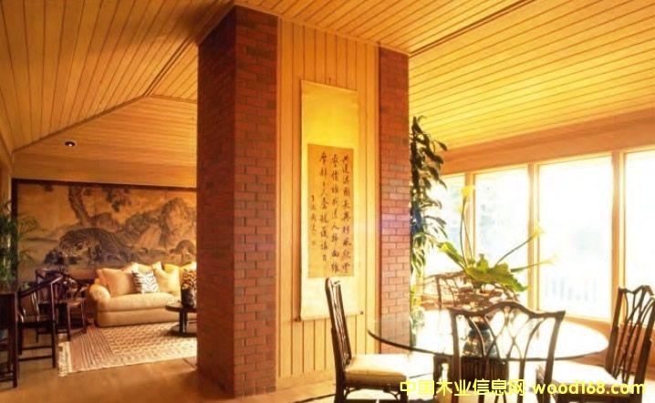 美国针叶材(西加云杉,黄松,花旗松)的室内用途介绍