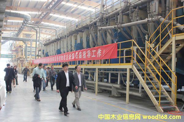 宝源木业三期精木板生产线