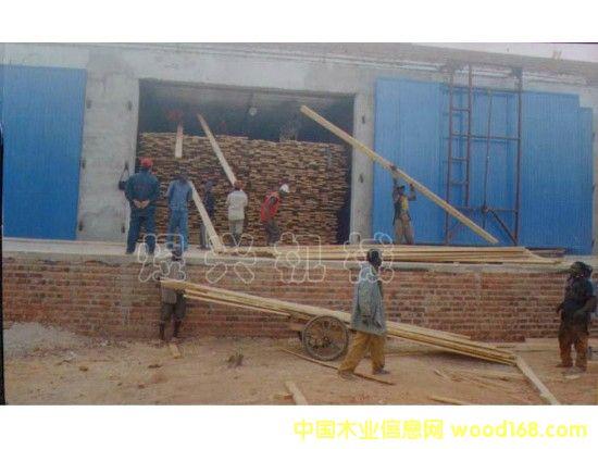 临朐煜兴机械南非砖混木材烘干设备使用现场