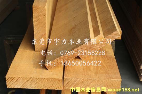 缅甸柚木板材定制