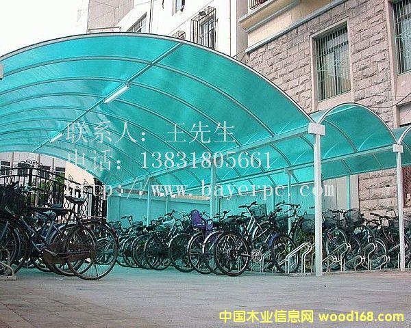东营阳光板雨棚