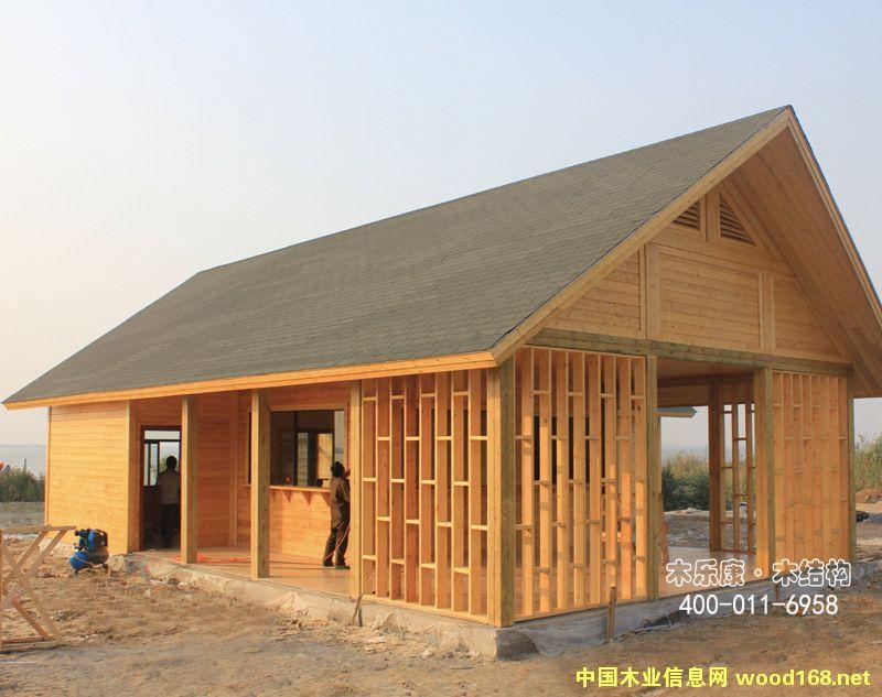 双层木屋别墅-中国木业信息网供应大市场