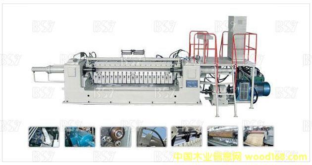 液压单卡轴旋切机BQ1226/8E
