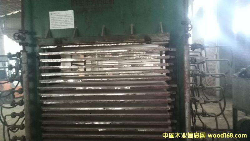 十五层木模板生产设备。。