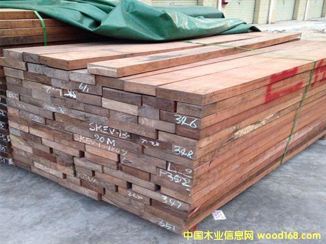非洲巴花板材 地板家具装修实木板