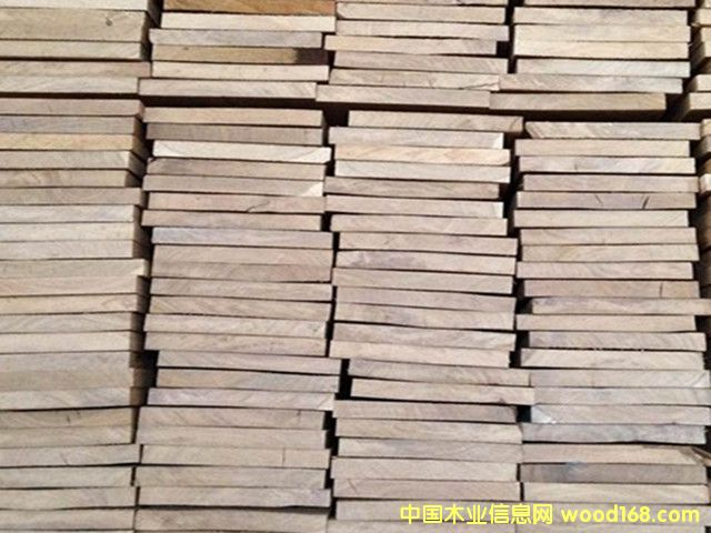 白橡木板材 欧洲进口实木板 普一级家具木板材