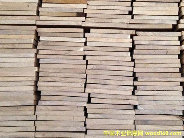 白橡实木板材 欧洲进口木材