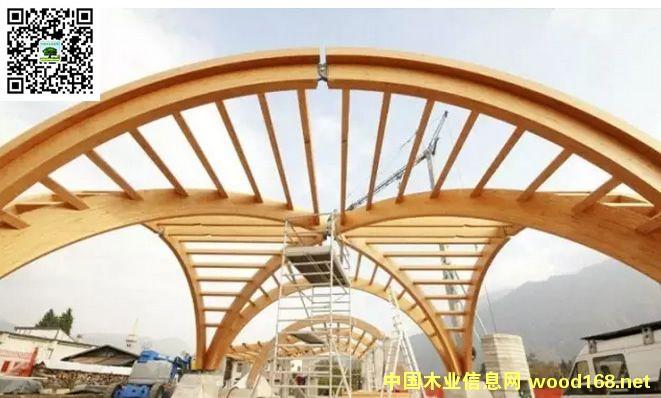 木结构动态:成都毗河印象挑战大跨度胶合木