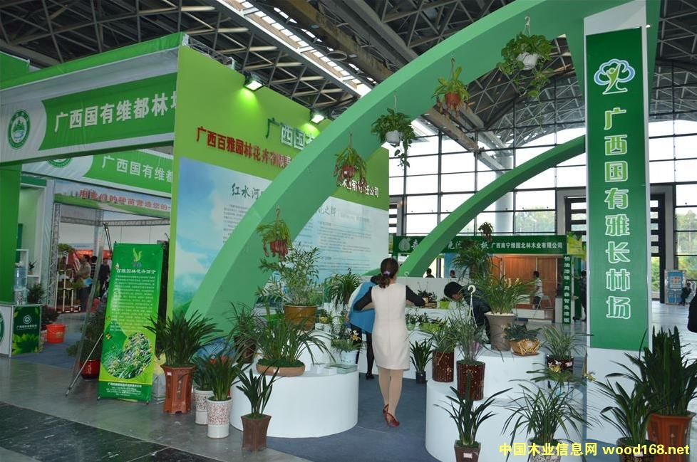 广西国有雅长林场-2013年中国 东盟博览会林产品及木制品展