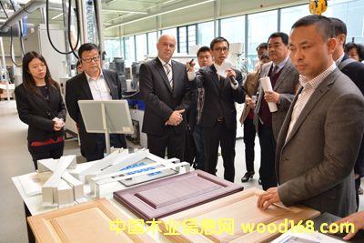 中国木门窗协会代表团赴欧洲参观考察