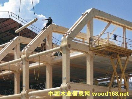 中国大力推进木结构建筑