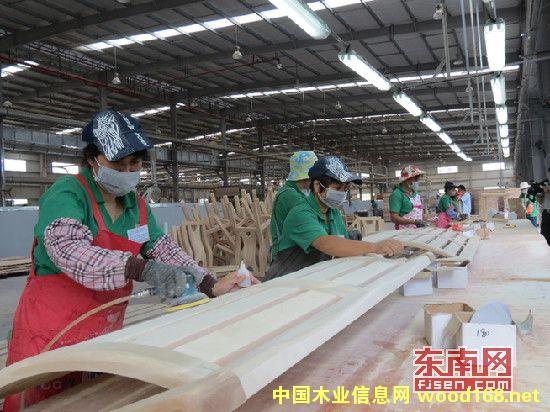 年产值5亿元 福建华安县华森家具一期正式投产