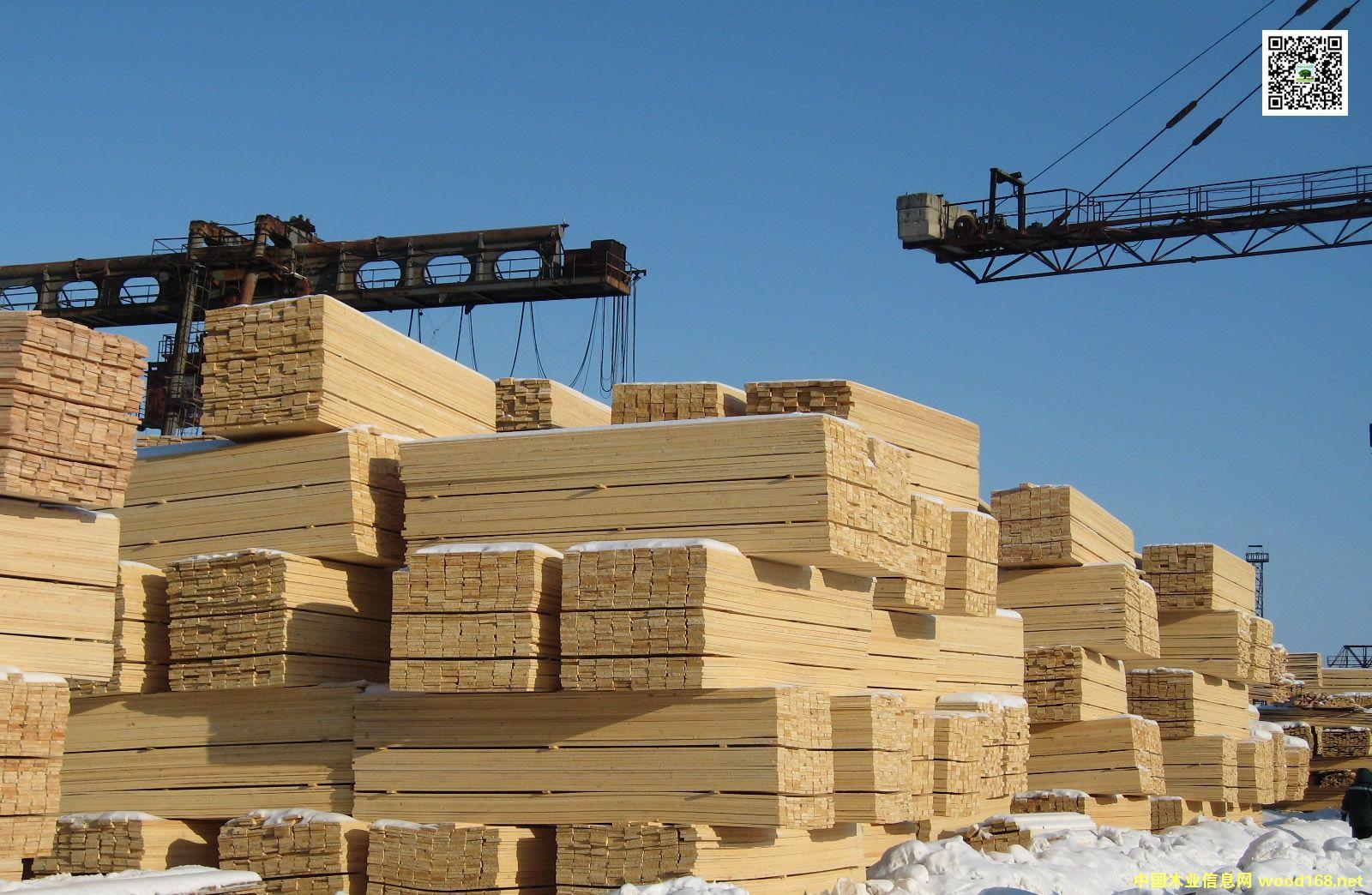 新疆阿拉山口东方木业贸易白松锯材