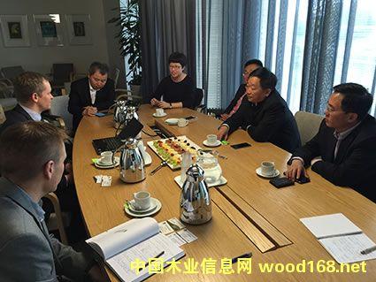 青岛林业局到瑞典和芬兰洽谈森林及木材加工业务圆满成功