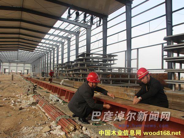 农作物秸秆代木纤维板项目在内蒙古前旗开建