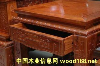缅甸花梨木(大果紫檀)实木家具
