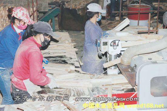 黑龙江融泽木业预计年销售收入2.2亿元