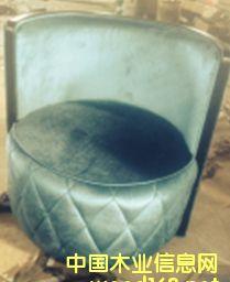 圆桶实木沙发