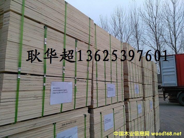 大量出口韩国日本 LVL 免熏蒸包装材