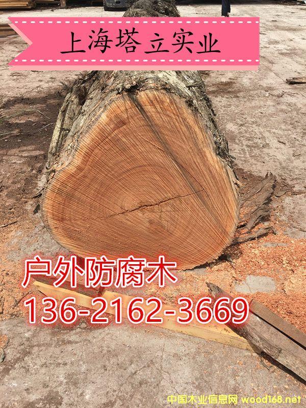 银口木|红柳桉木防腐木|户外地板|园林景观木材