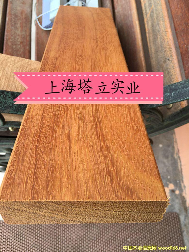 非洲菠萝格塔立木进口木材加工