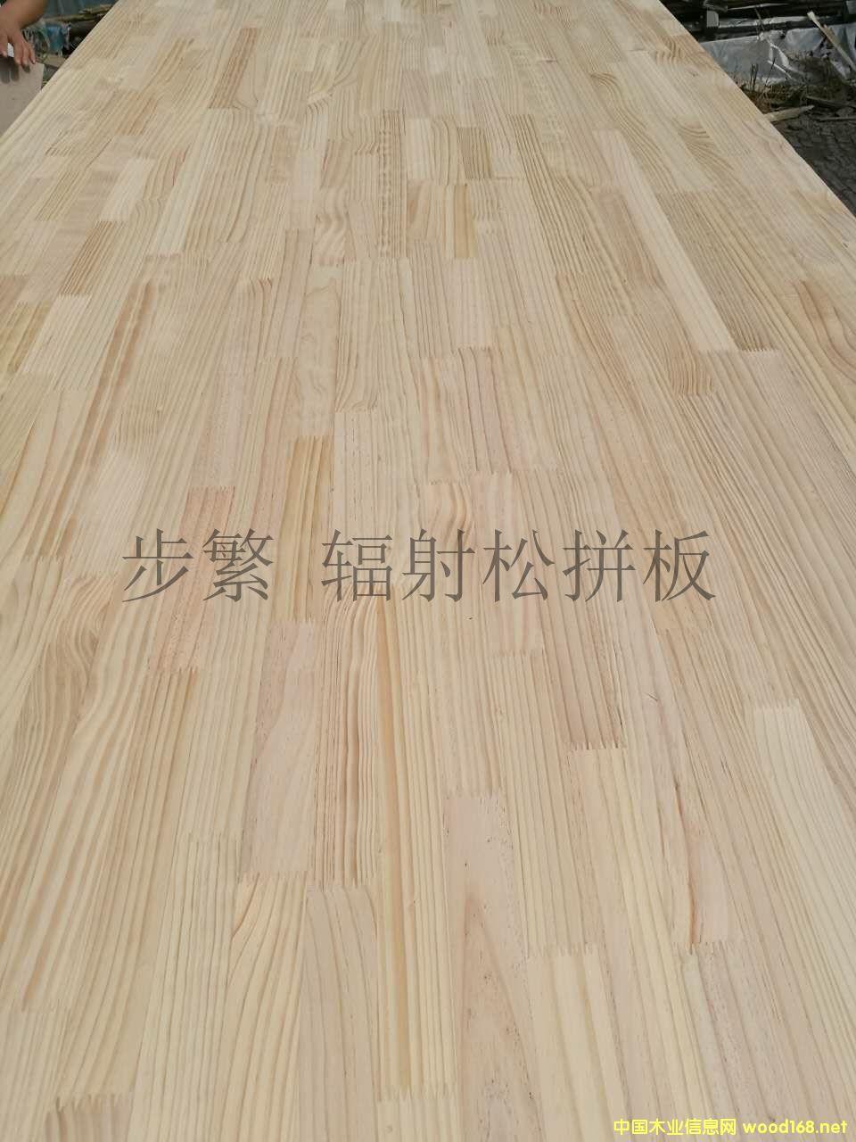 热销松木指接板 新西兰辐射松拼板 松木家具板