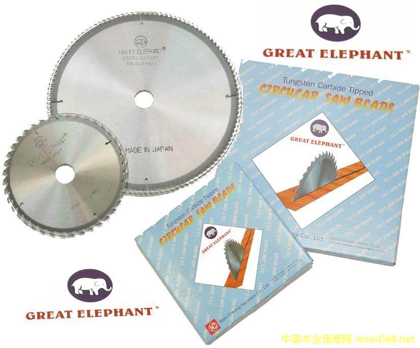日本大象牌Great Elephant合金园锯片的详细介绍