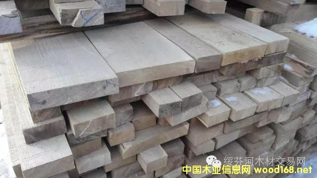 俄罗斯榆木干燥板材