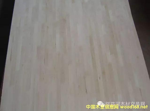 桦木集成材
