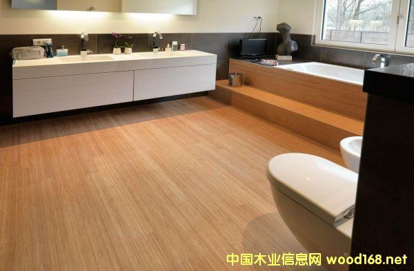 PVC卡扣式木纹地板 木纹打印机