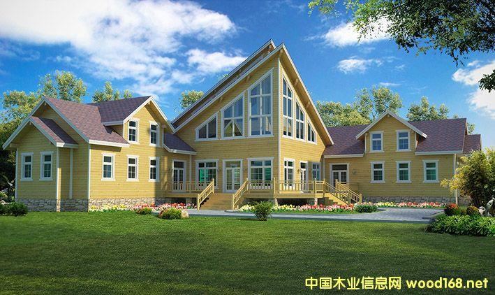 木结构图片,木制房屋,生态木廊别墅v图片架木屋别墅图片