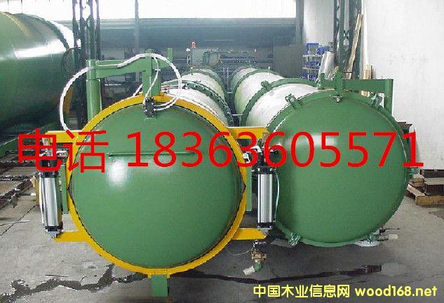 木材软化蒸煮罐 木材炭化改性设备设备