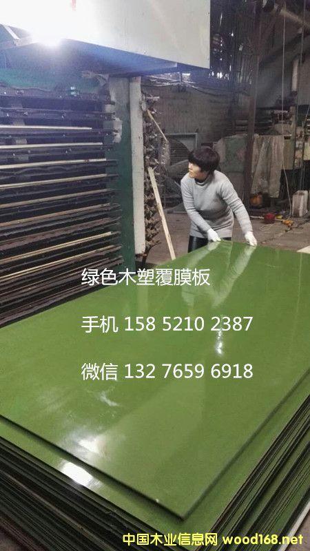 木塑建筑高档覆膜板