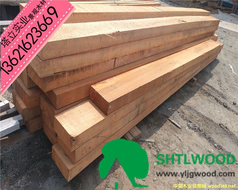 正宗柳桉木、进口木材、户外地板