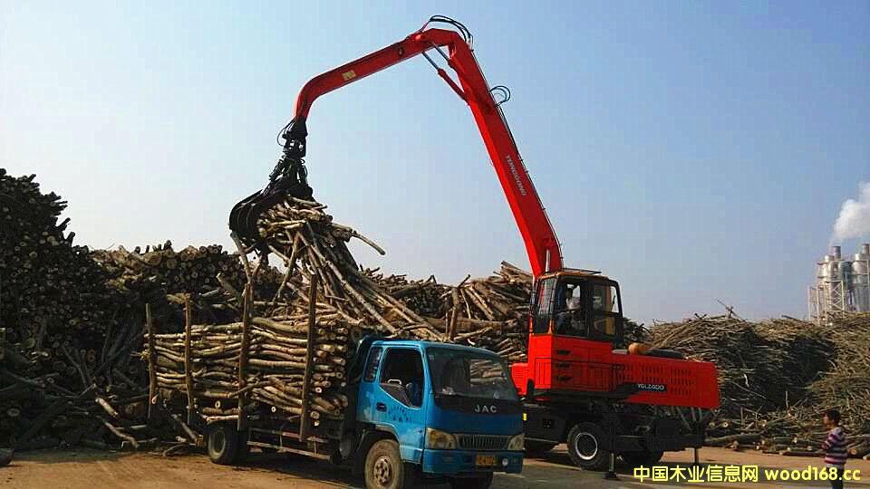 河南黄海抓木机