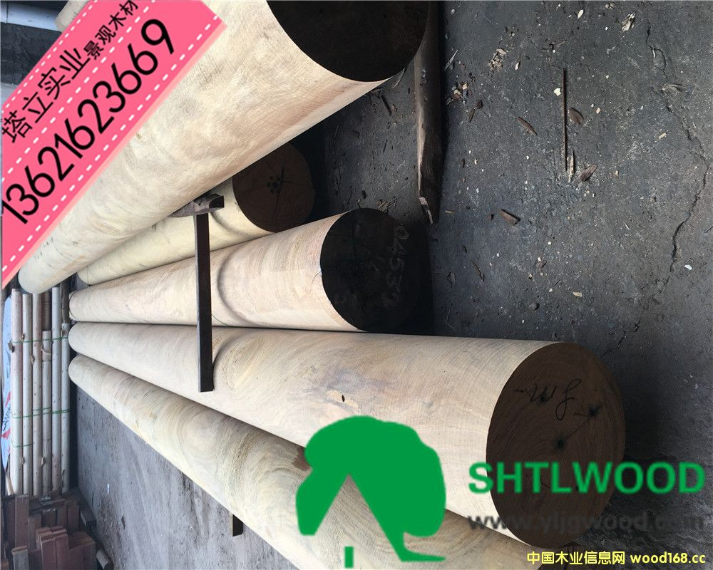 花旗松 南方松 樟子松 户外木材 景观园林 木结构材料 防腐