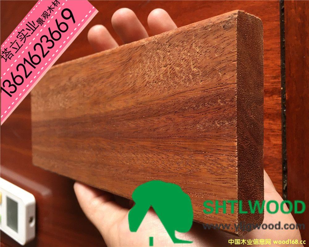 非洲菠萝格 户外木材 景观园林 木结构材料 防腐木地板