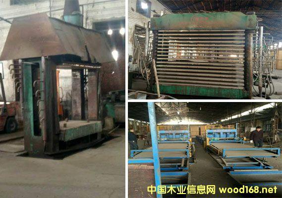 福建大田3*6尺建筑木模板生产设备
