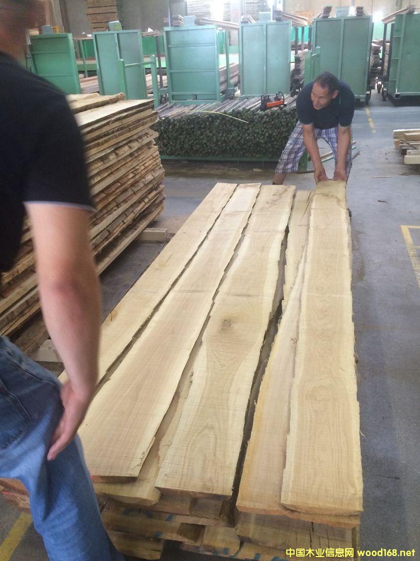 欧橡板材定尺2米