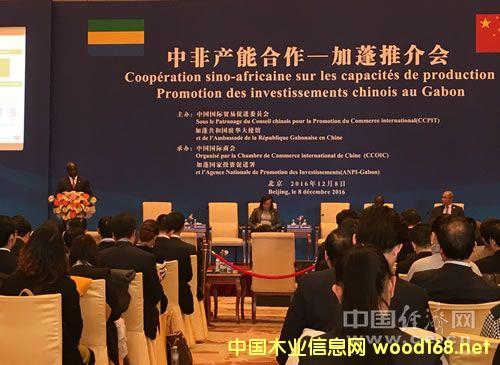 中非产能合作-加蓬推介会在北京举办