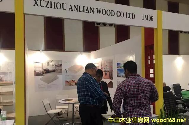 徐州安联木业携大豆无醛胶家具板材亮相马来西亚国际家具展