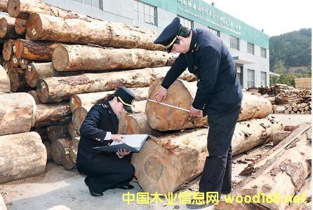 湖州市进口木材总量及增长幅度均创历年最高