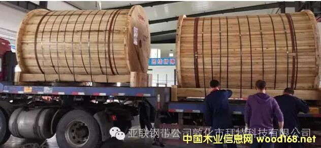 国产首套┃亚联合创3.5mm厚八尺连续平压机钢带顺利交付