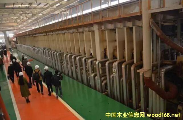 全国纤维板工业发展研讨会参观丰林集团明阳厂