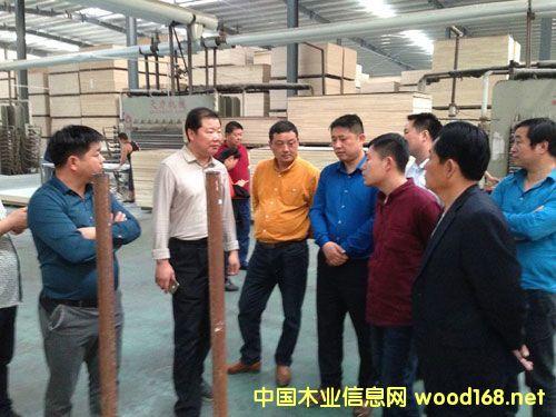 安徽人造板协会赴山东临沂参加中国国际家具板材产业博览会