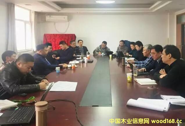 滁州九德木业召开年产30万立方米强化木地板基材项目技术交流会