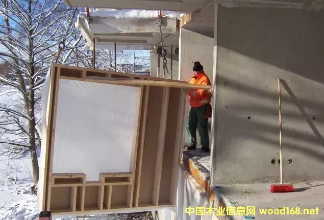 木结构分类:什么是非承重木骨架组合墙体?