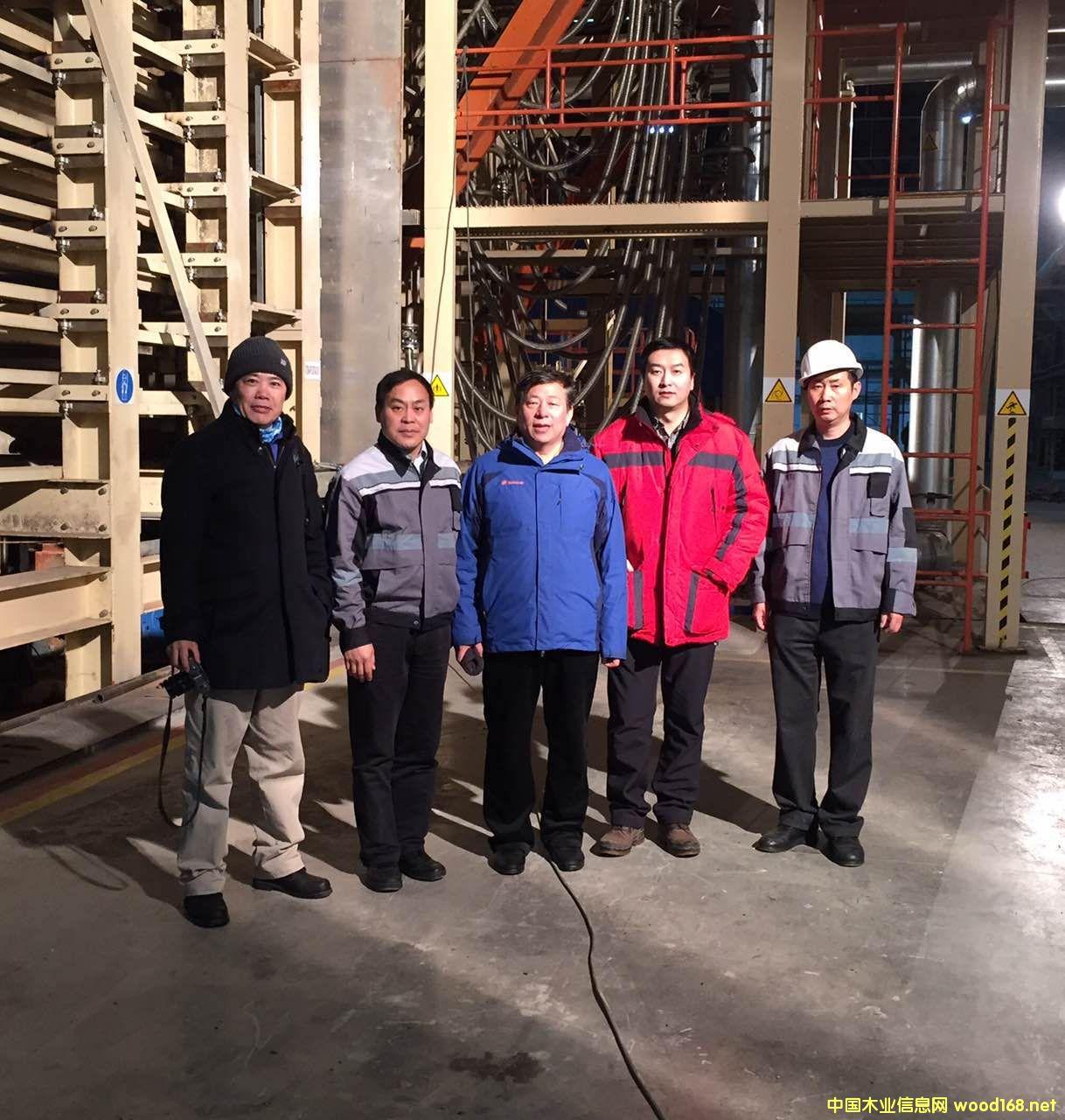 国林木业城陈湘州总经理一行考察中航林业俄罗斯园区