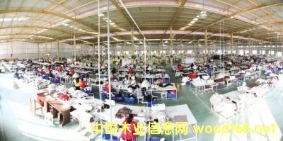 河南清丰家具产业集群造就富民强县新引擎