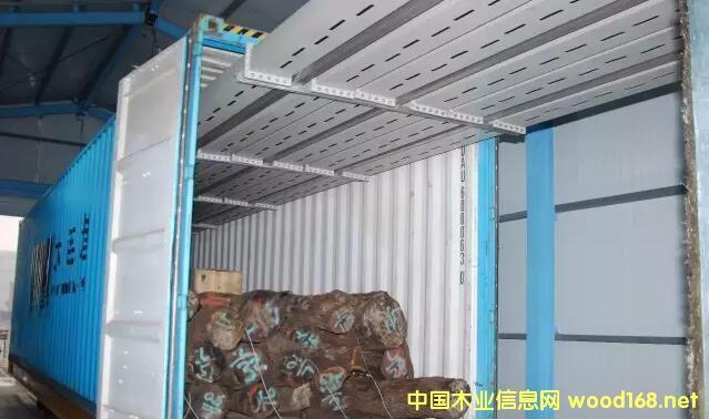 我国首创世界微波检疫处理原木技术在大连港投入使用